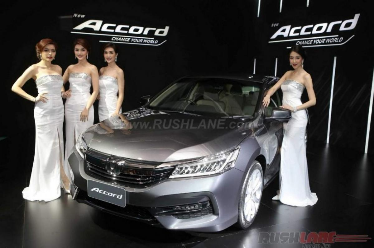 Thailand gets a peek into India bound 2016 Honda Accord facelift