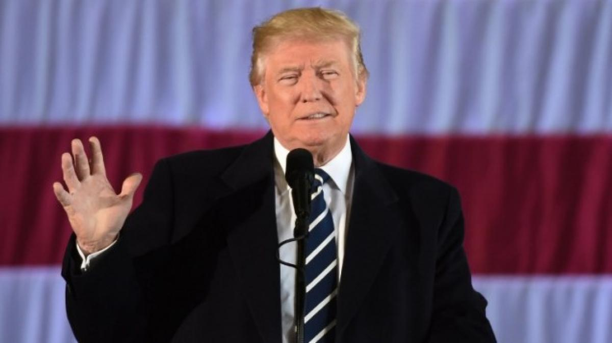 US should let China keep underwater drone: Trump