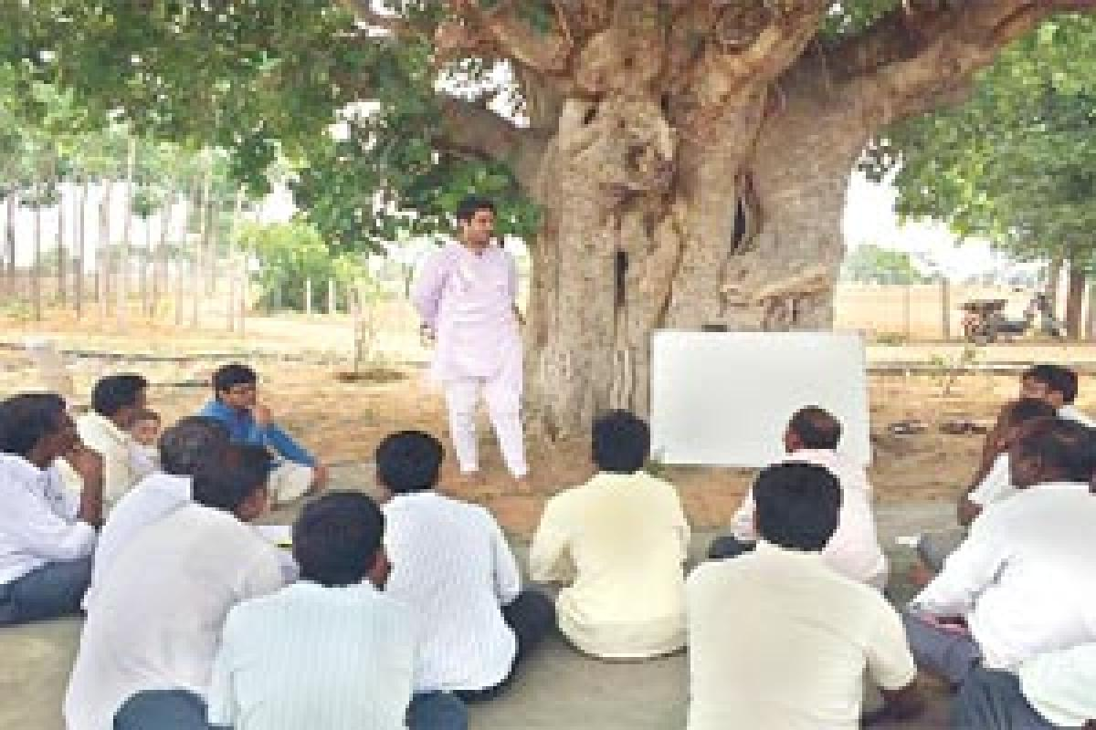 Young CAs on a mission to educate farmers