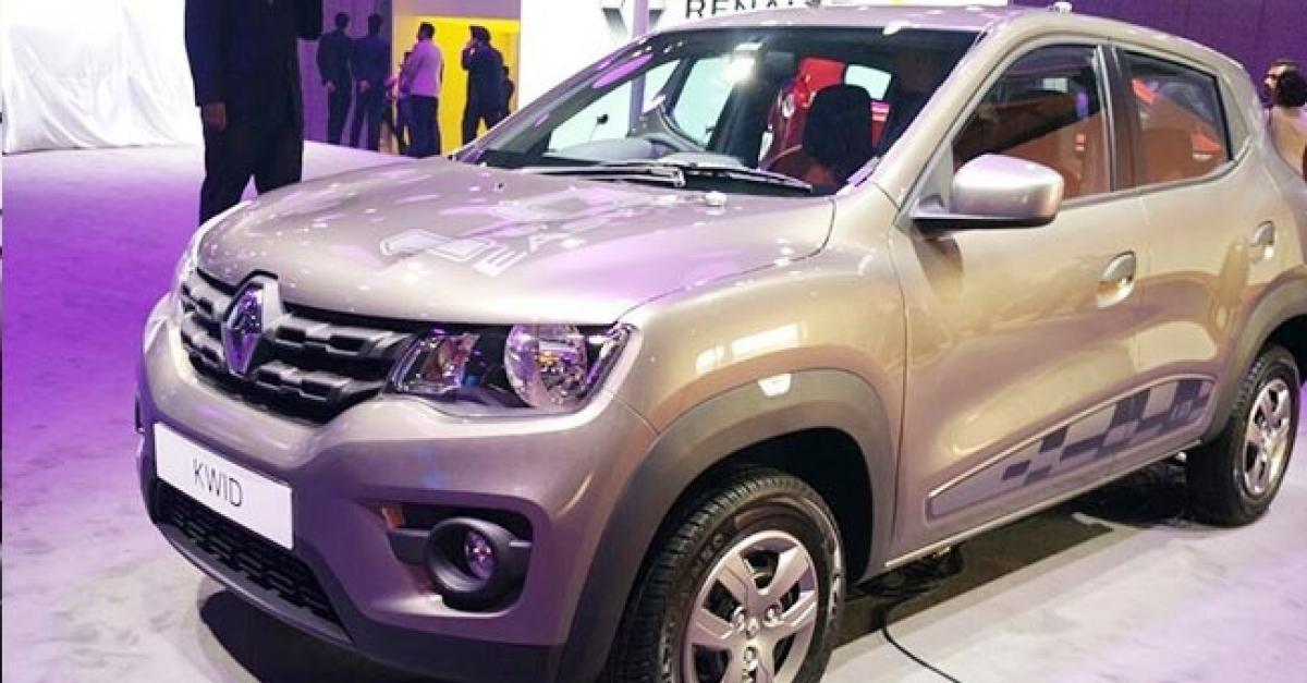 Renault Kwid 1.0-litre To Be Launched This Month