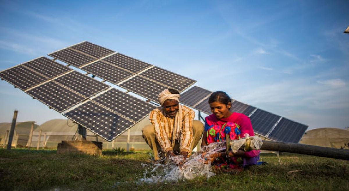 Solar powered solution for groundwater crisis