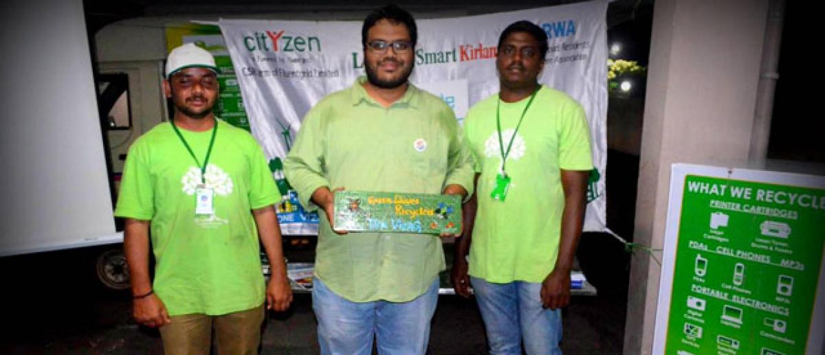 Enterprise with unique mission to protect environment from e-waste