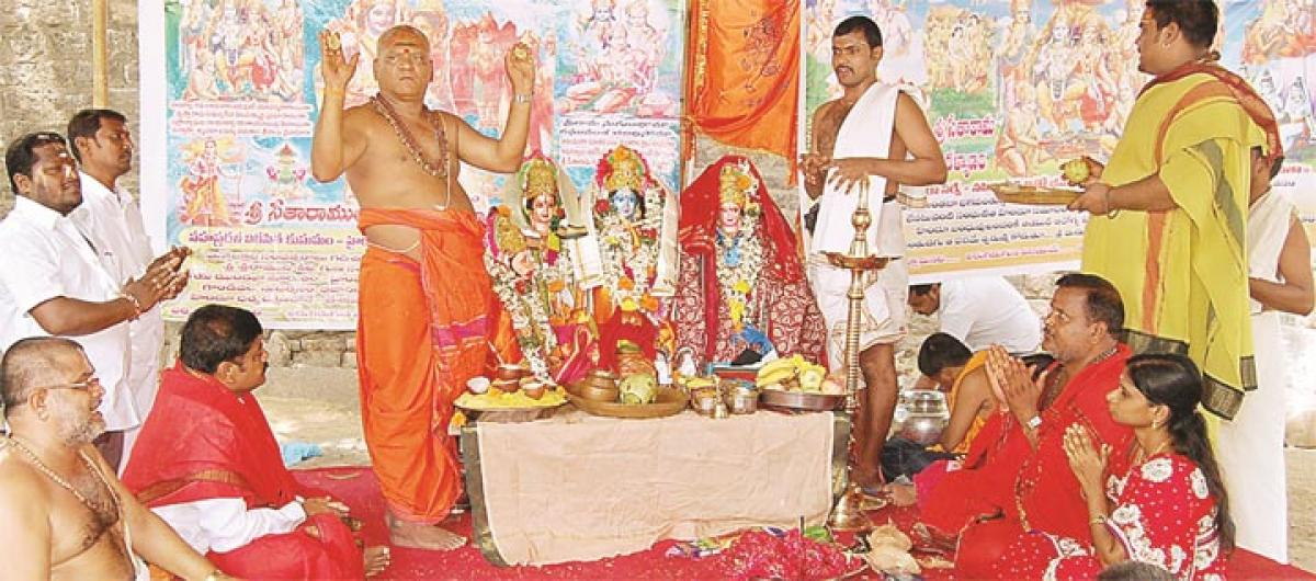 Celestial wedding of Lord Rama celebrated with religious fervour