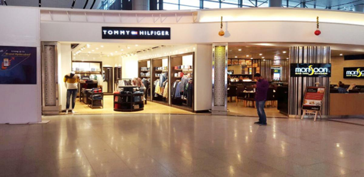 Tommy Hilfiger store launches at airport