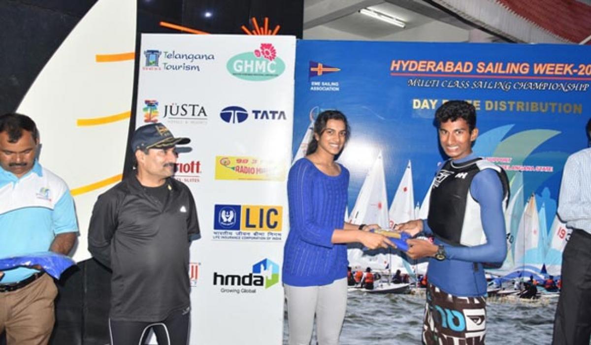 Photos: Day 1 of Hyderabad Sailing Week