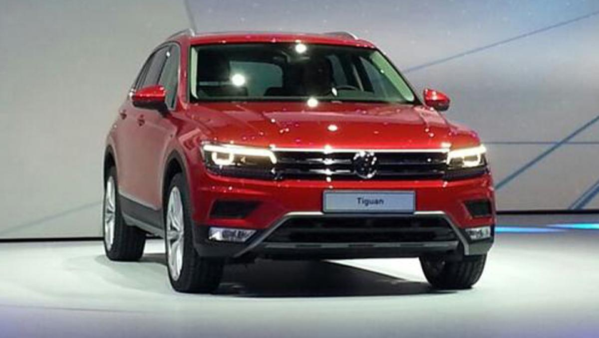 India-bound Volkswagen Tiguan launched globally