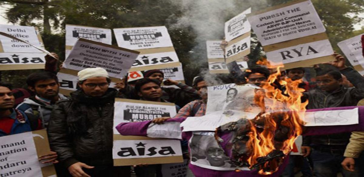 Behind University of Hyderabad tragedy