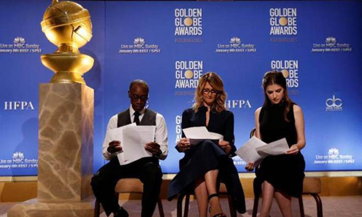 Golden Globe Awards 2017: Facebook, Instagram on red carpet