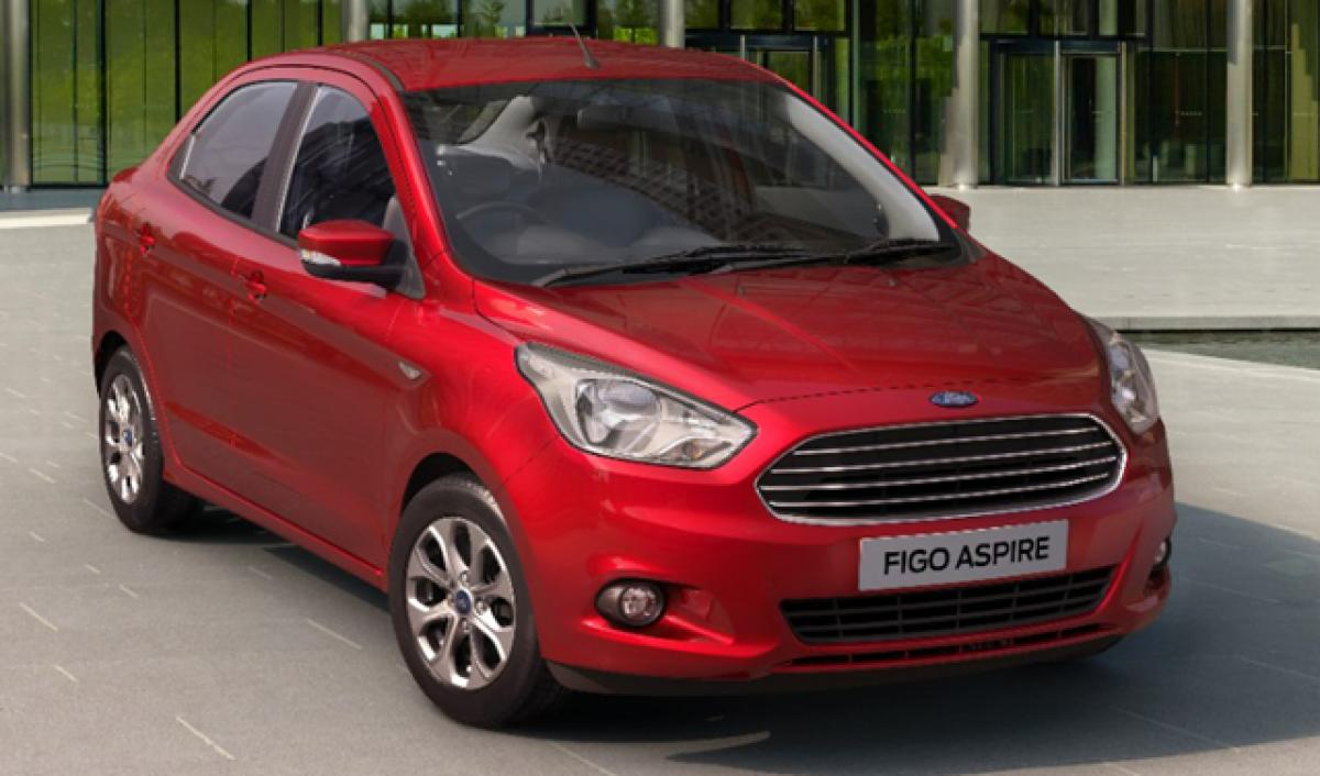 Ford Figo Aspire to be showcased in Hyderabad