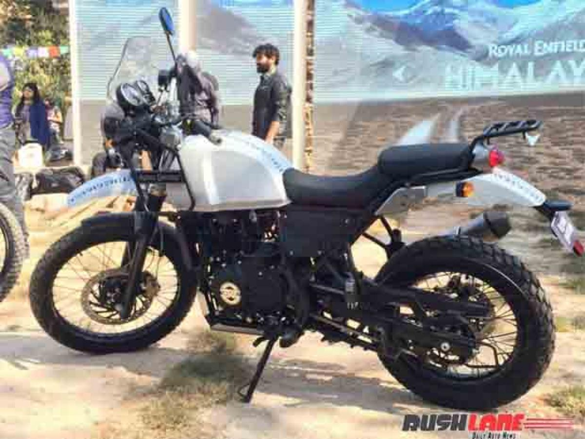 Get your Royal Enfield Himalayan bike repaired for free