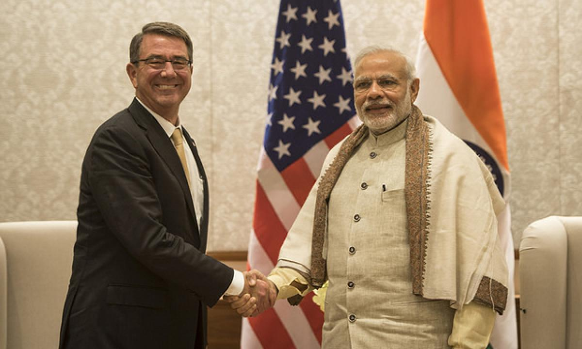 Legislation provides recognition of India as a major defence partner of the US clears the Congress