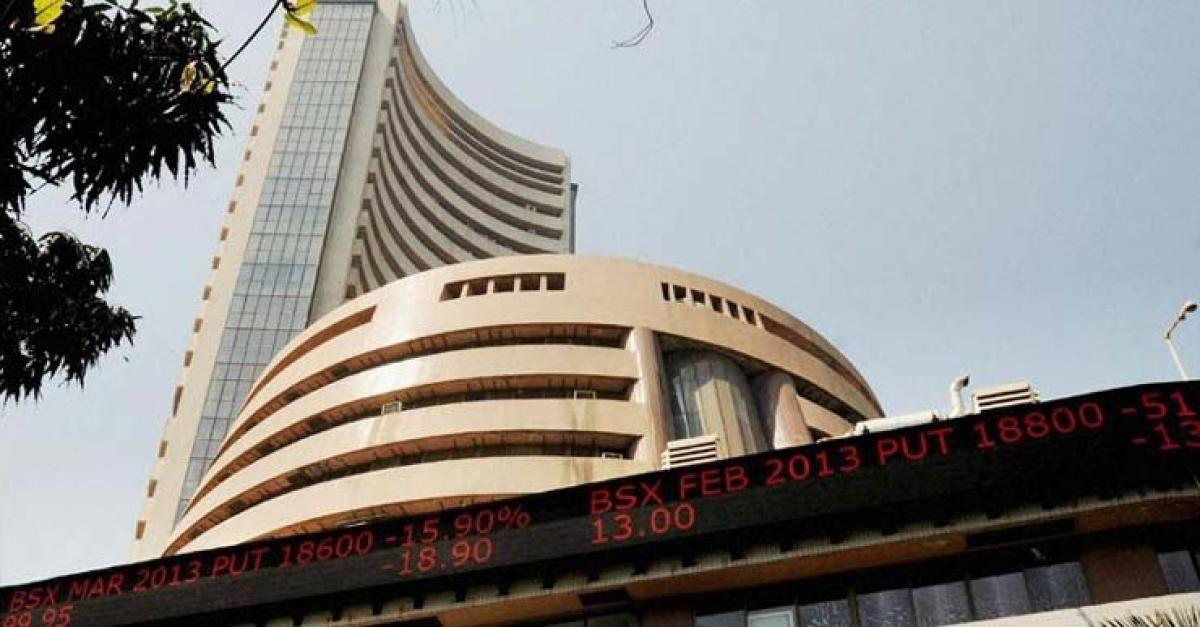Sensex surges 323 points in early session