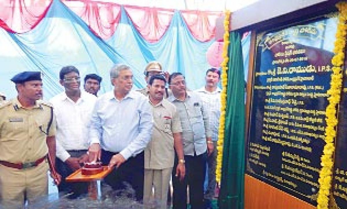 DGP inaugurates Marine Police Station