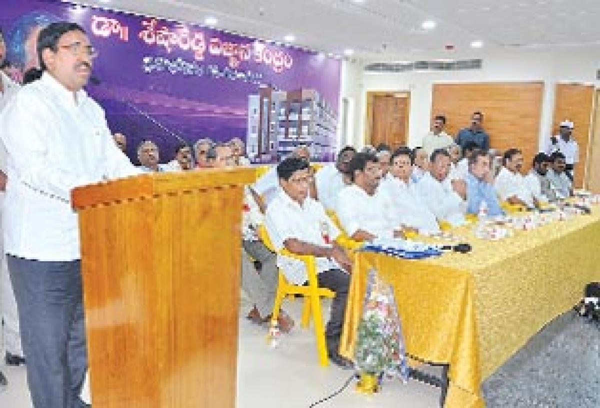 Jetty Sesha Reddy Vignana Kendram inaugurated