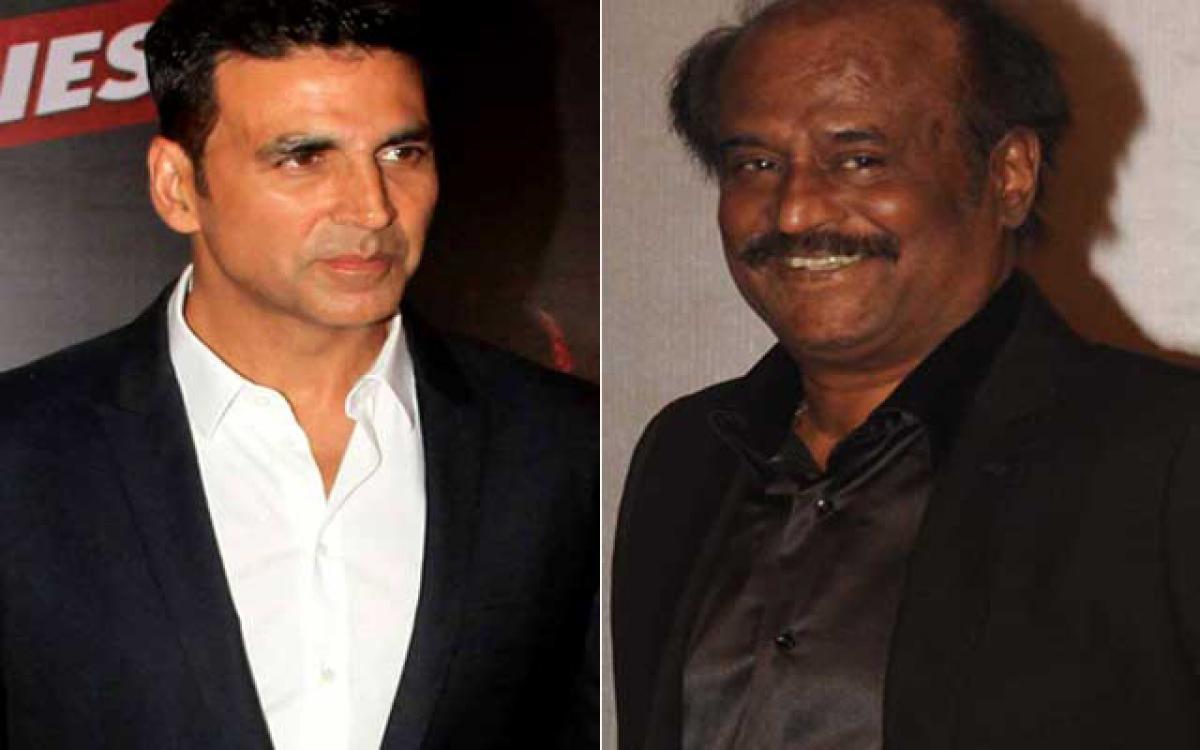 Akshay Kumar scared of Rajinikanth?