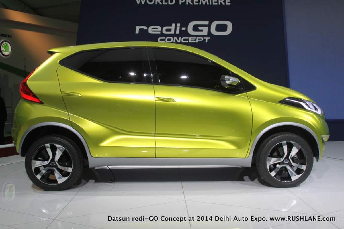 Datsun Redi-Go hatchback tested on Chennai roads