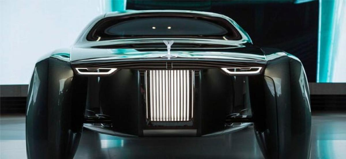 Rolls-Royce concept to give you a luxury ride using AI assistant