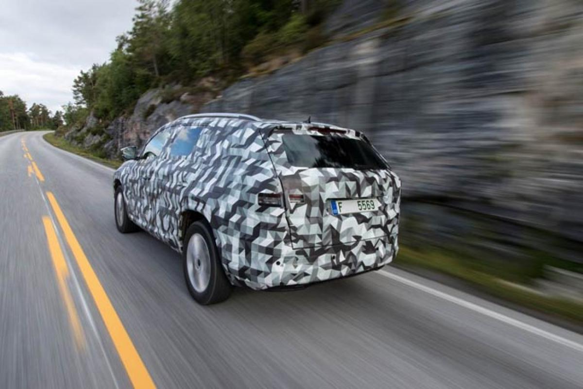Spotted: Skoda Kodiaq in action