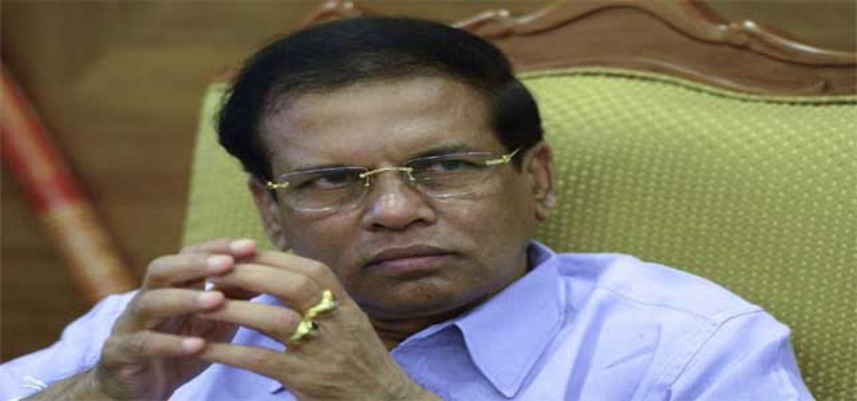 Lankan astrologer arrested for predicting Sirisena's death