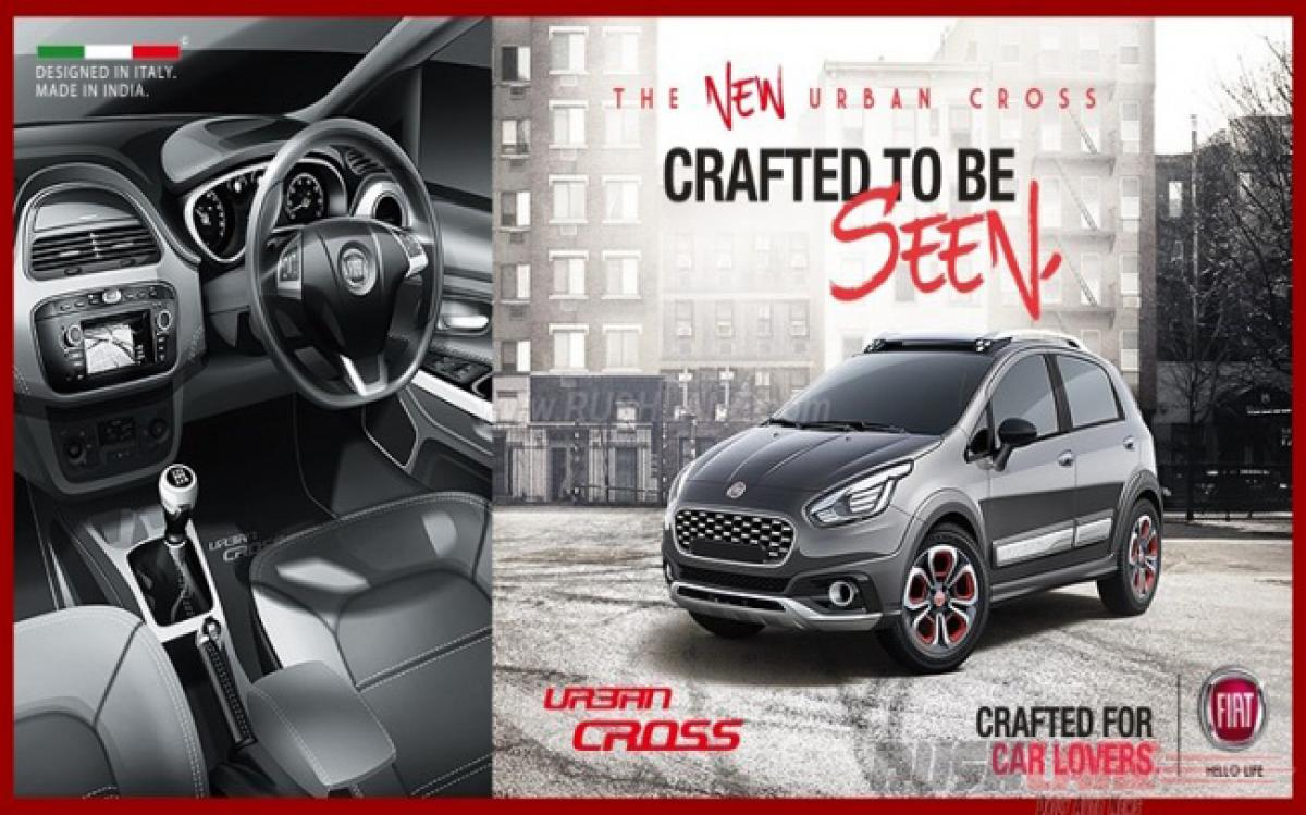 Bookings open for Fiat Urban Cross ahead of launch