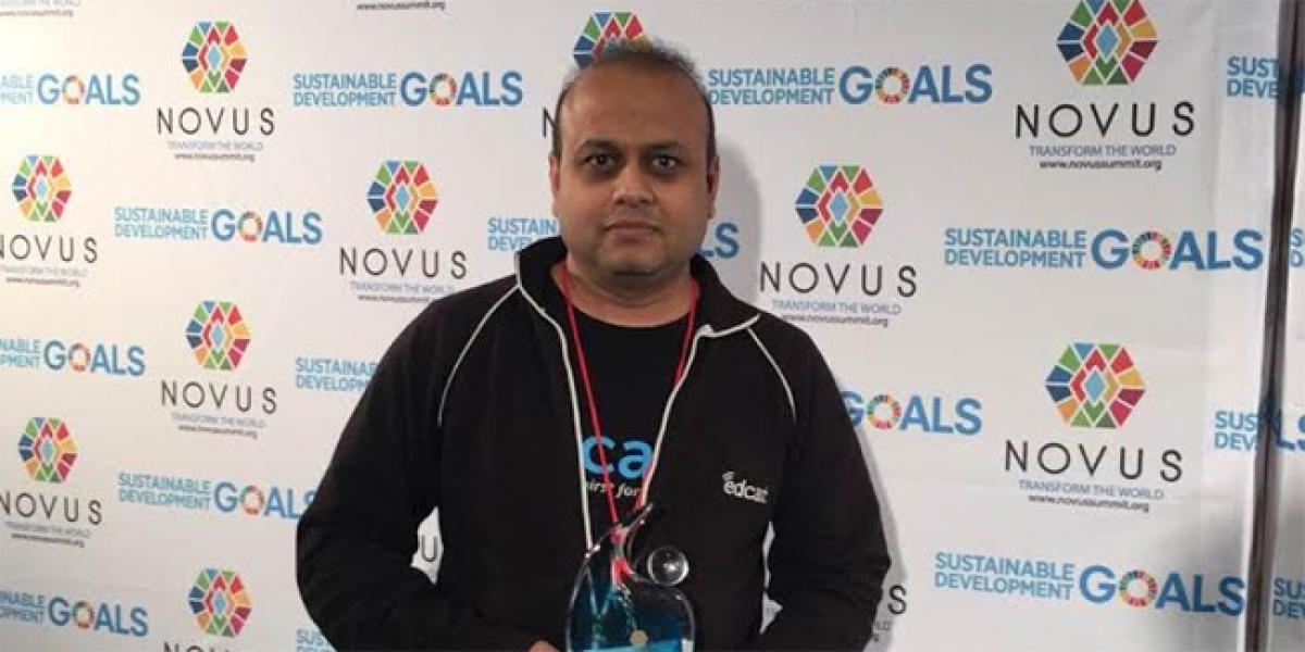 Novus SDGs award for Indian-led EDCAST based in Silicon Valley