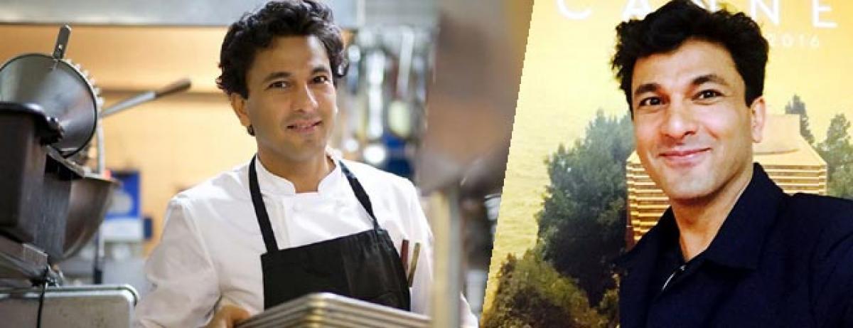 Vikas Khannas Kitchens of Gratitude at Cannes