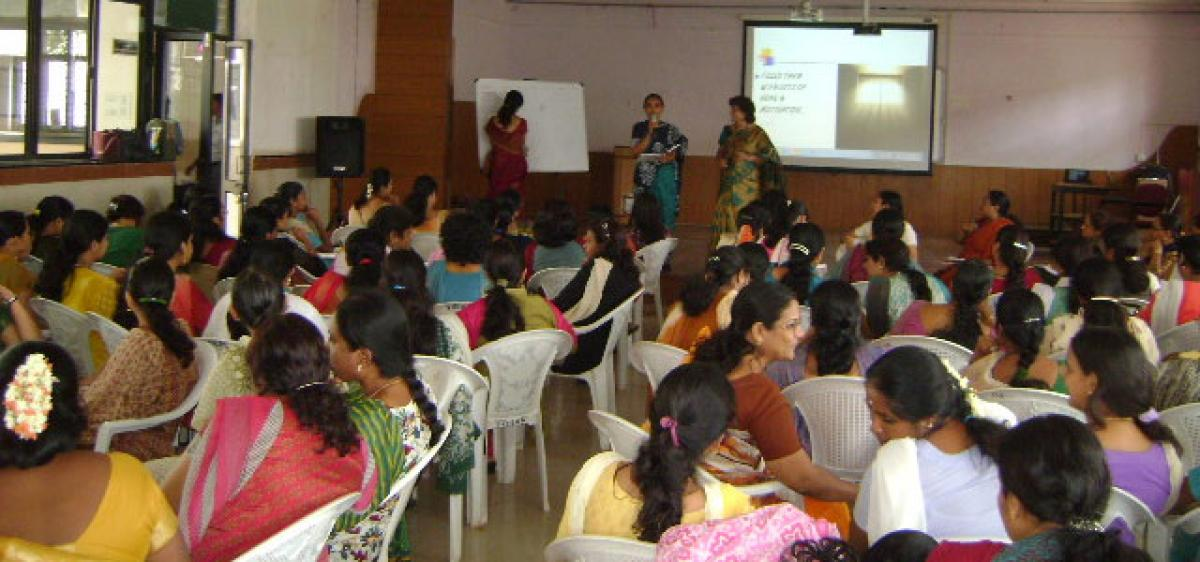 State-level training to govt teachers