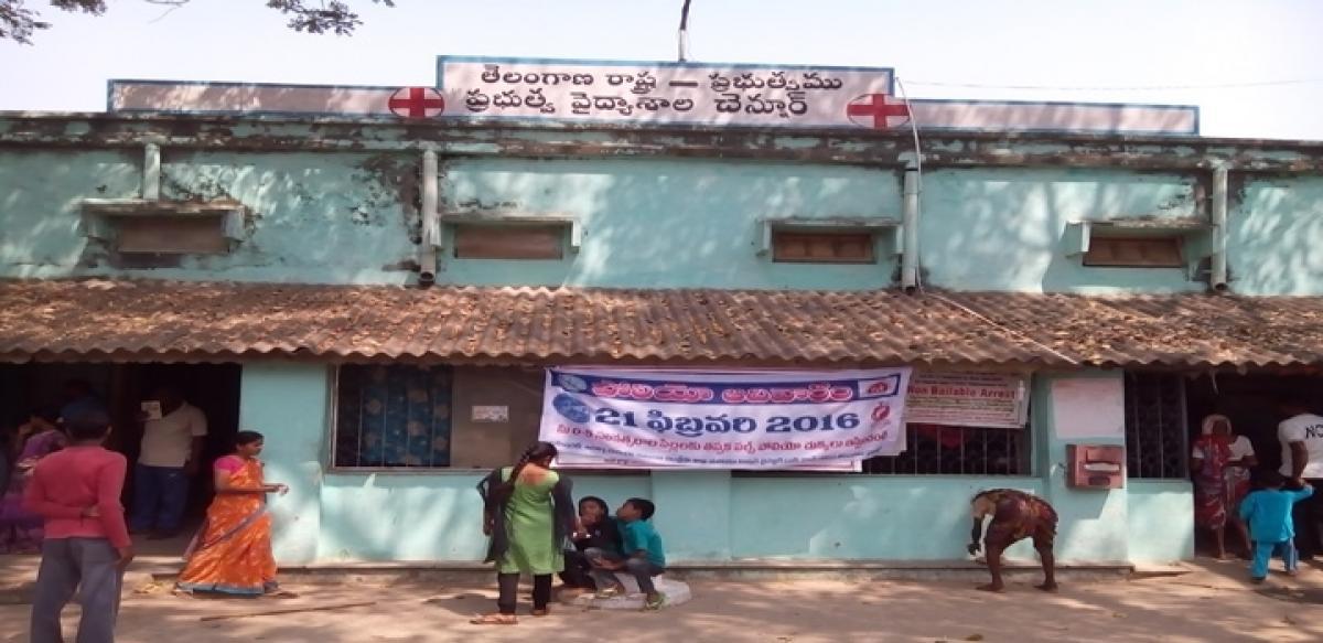Ailing Chennuru hospital cries for cure