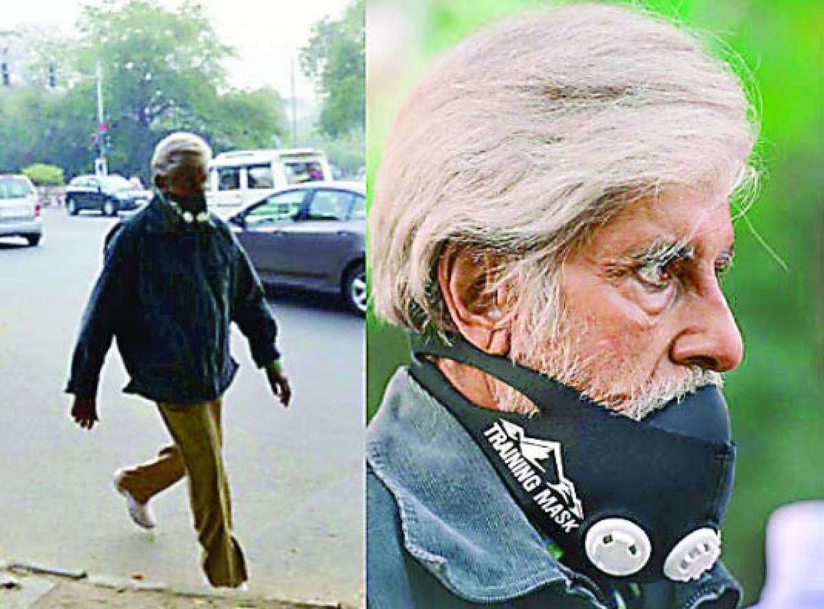 Big B goes incognito in New Delhi