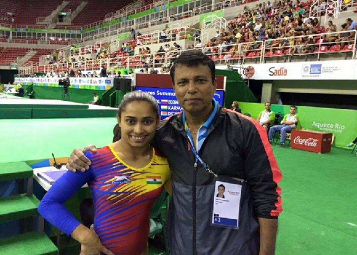 Dipa Karmakars coach asserts that performance will reap awards in India