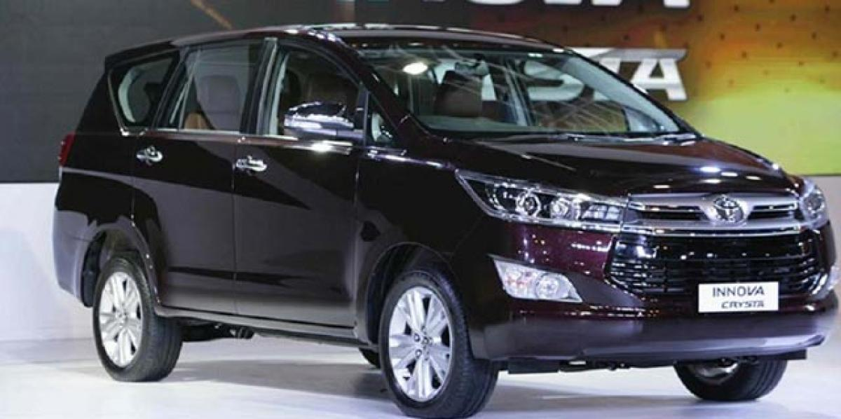 Toyota Innova Crysta petrol engine to be made in India