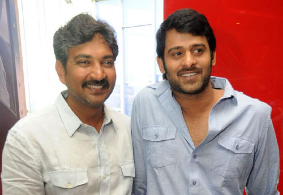 Rajamouli and Prabhas chit-chat on Sports