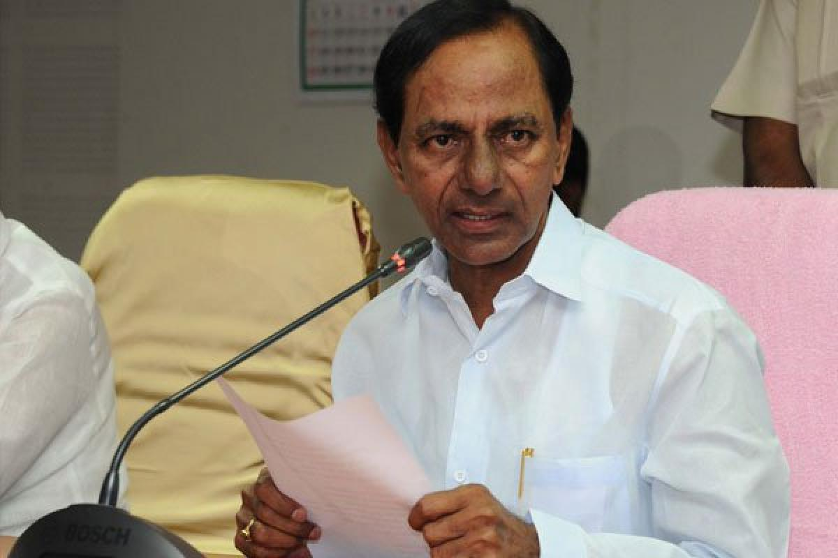 KCR greets ISRO for successful launch of GSLV Mk-III