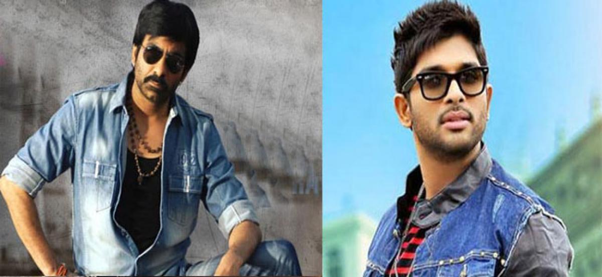 Ravi Teja beats Allu Arjun for Tamil remake