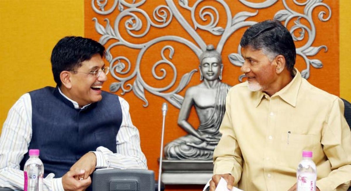 AP will reach int'l standards in power supply: Piyush Goyal