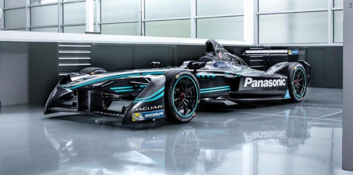 Jaguar returns to racing with I-Type