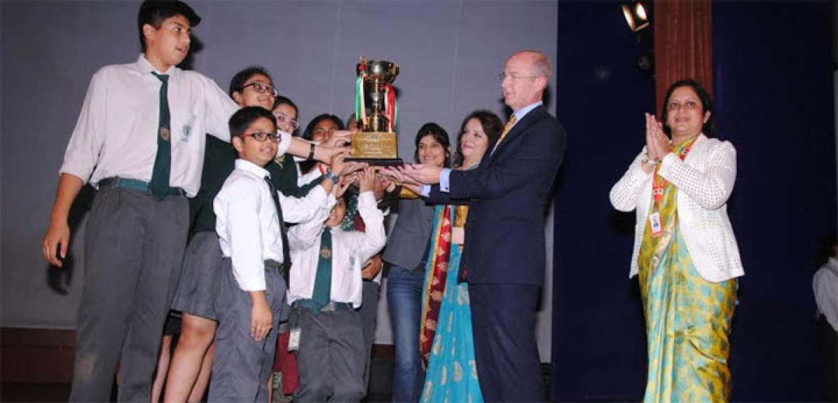 Suncity School holds 5th Inter School Multiple Intelligence and me competition
