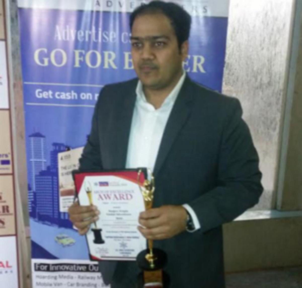 Golden Achiever Award for Sanjeev Gupta