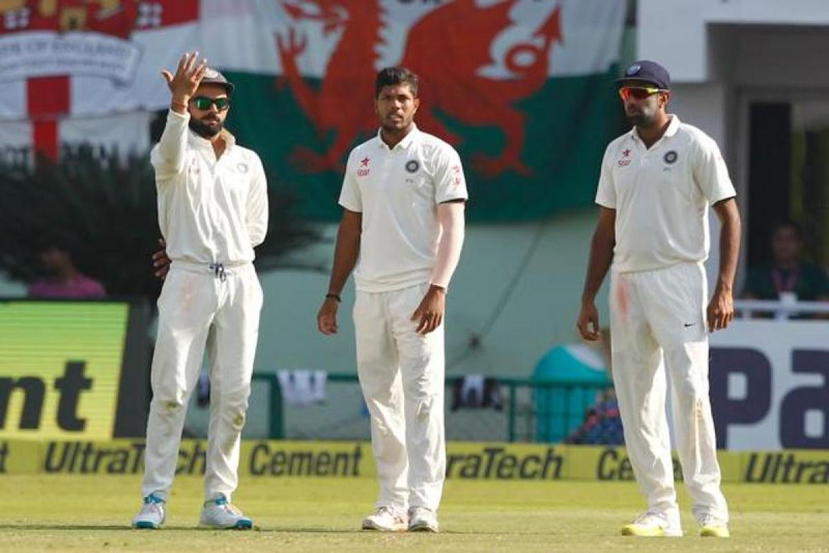 Indian bowlers look for breakthrough as England score 40 for no loss at tea