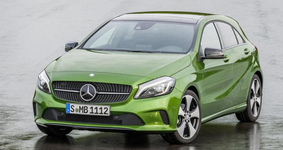 Mercedes-Benz A-Class facelift to be launched on Dec 8