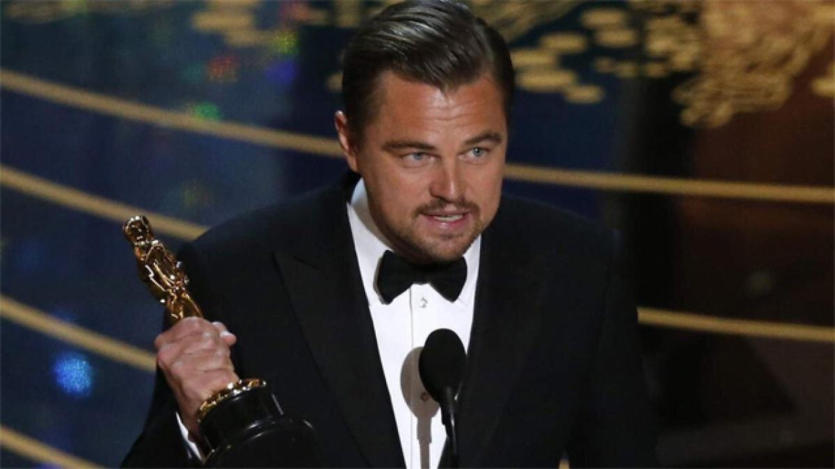 Watch: Leonardo Di Caprio Oscar speech on Climate Change full text