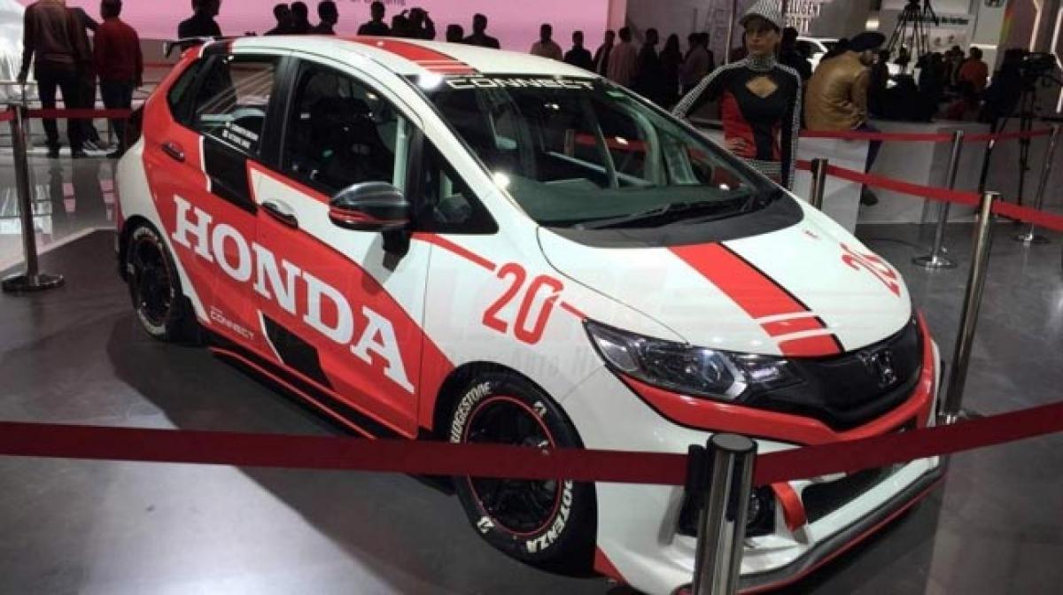 Honda Jazz Racing Concept – Auto Expo 2016