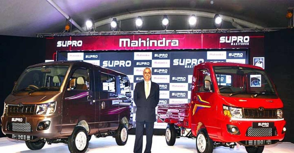 Mahindra Supro Van launched