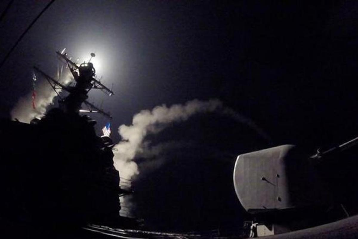 US, Russia clash over strikes on Syrian air base