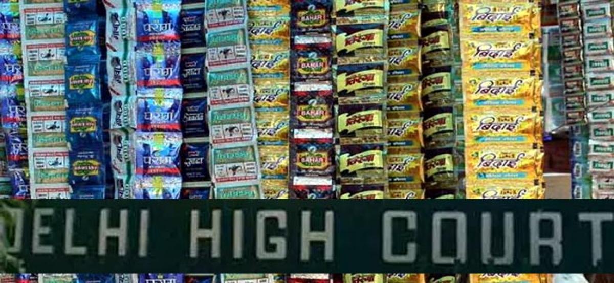 Plea seeking ban on chewable tobacco filed in Delhi High Court