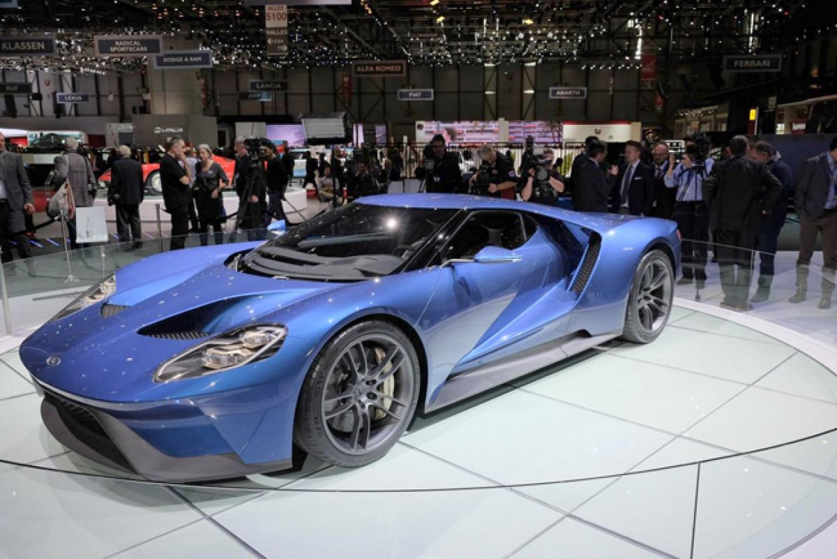 Only a privileged few can own Ford GT