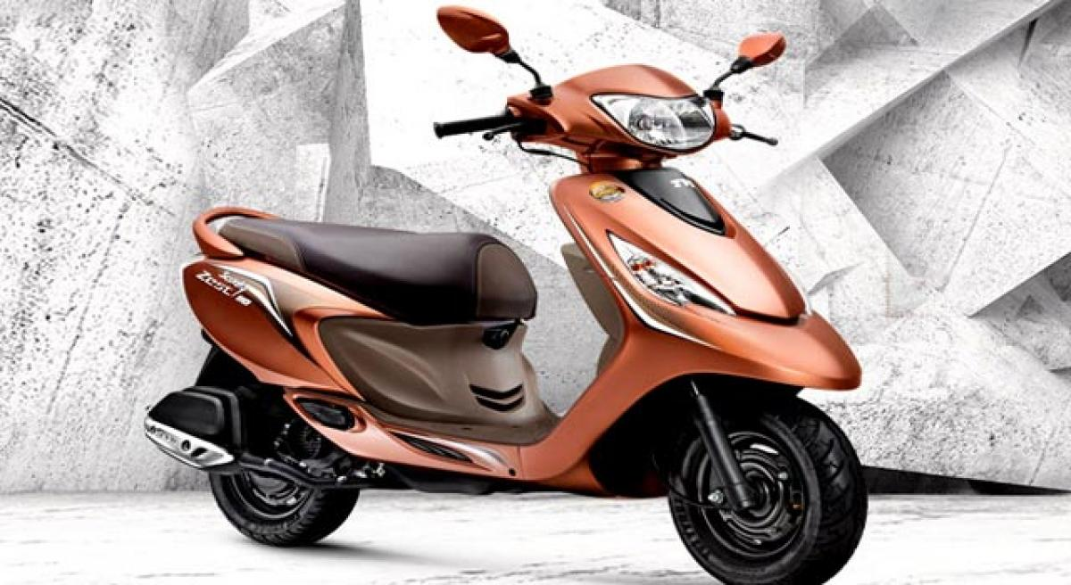 TVS Scooty Zest Himalayan Highs special edition launched