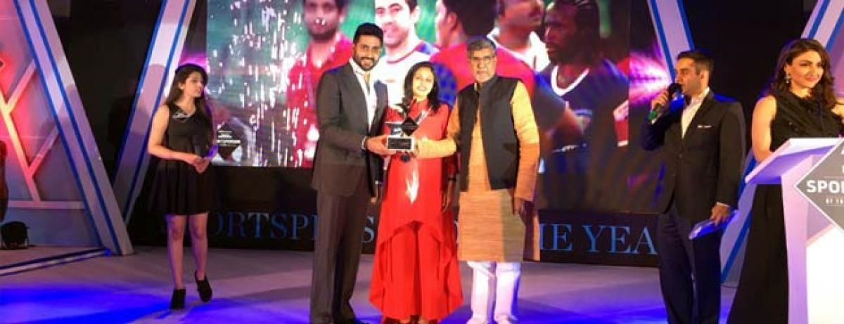 Abhishek Bachchans football team Chennaiyin FC awarded by Sports Illustrated India!