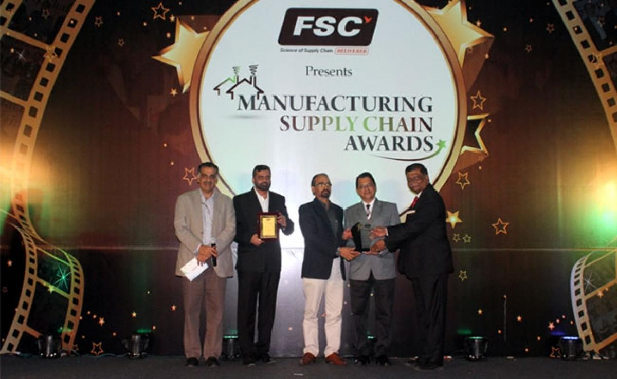 "Inland World Logistics awarded for ""Excellence in End-to-end customer solutions"""