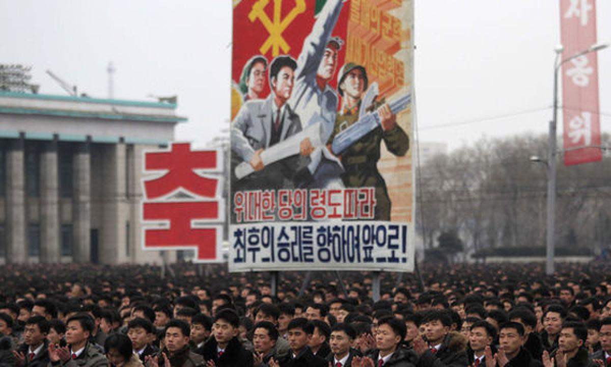 Neither leadership in the US nor sanctions will stop us says North Korean economist